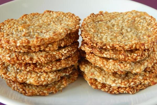 Sezamki - najprostsze i zdrowe ciasteczka #1