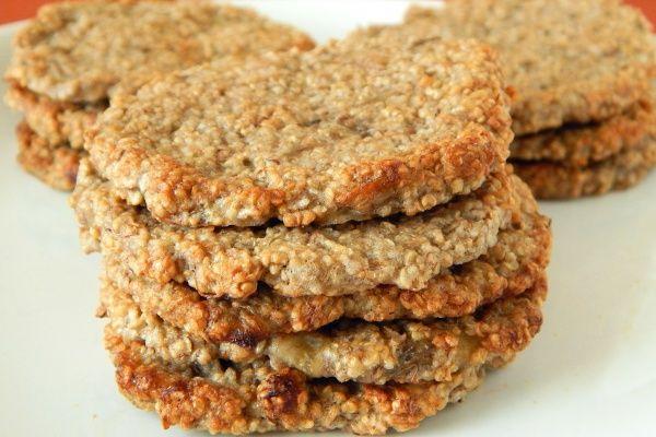 Amarantuski - najprostsze i zdrowe ciasteczka #2