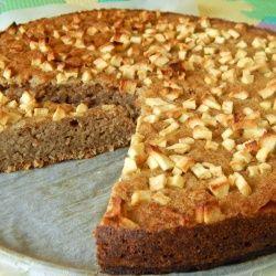 Ciasto z pulpą kokosową, na słodko bez cukru