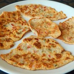 Mini-omlety z pomidorem