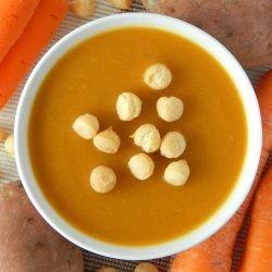 Zupa z batatów i marchewki