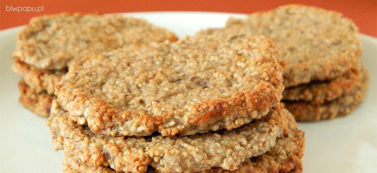 Amarantuski - najprostsze i zdrowe ciastka dla dzieci