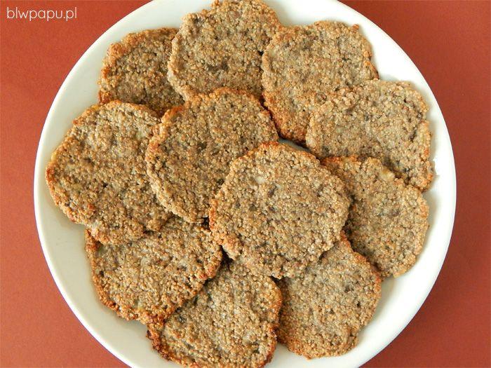 Proste i szybkie ciasteczka z amarantusem