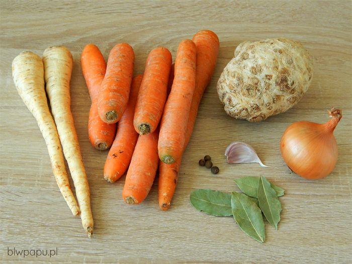 Bulion warzywny - składniki
