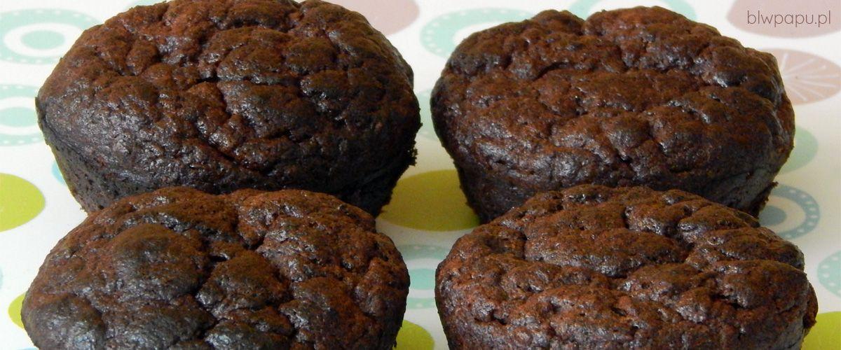 Bezglutenowe muffinki czekoladowo-bananowe
