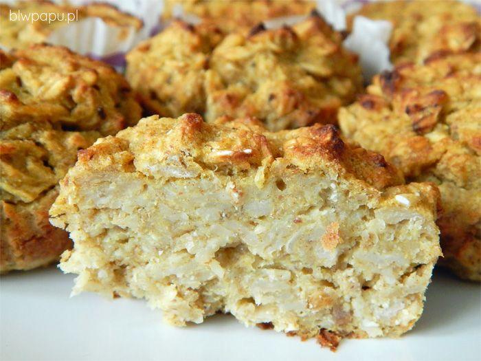 Muffinki owsiano-dyniowe na słodko