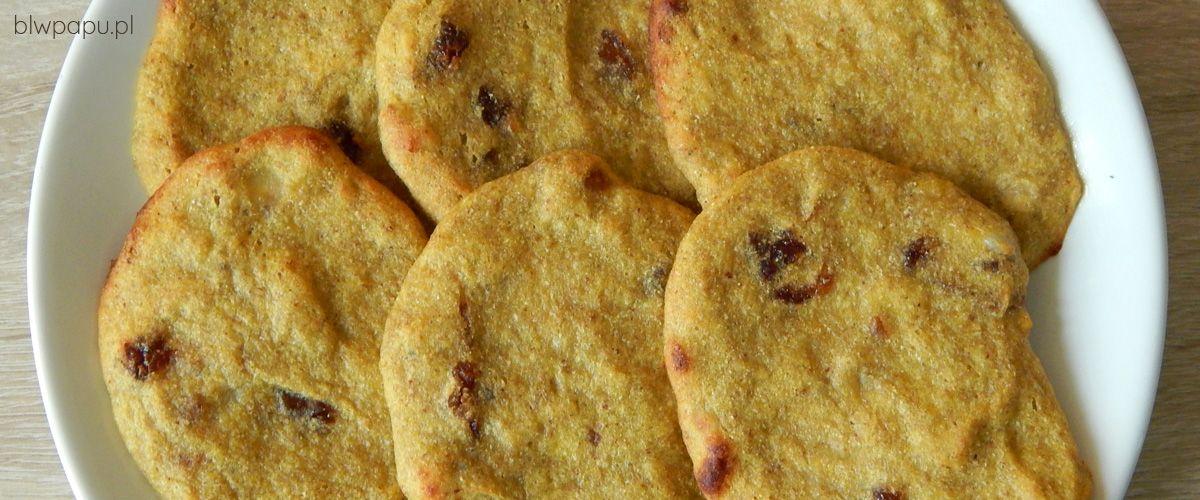 Pieczone placki z dyni i moreli suszonych - na słodko, bez cukru