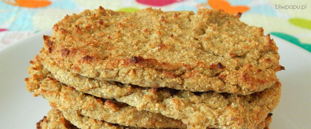 Pieczone placki z kaszy jaglanej i dyni - na słodko, bez cukru