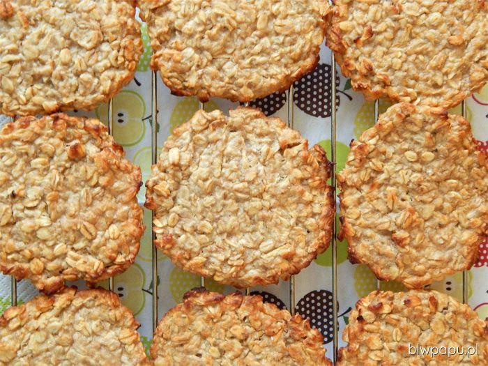 Placki owsiano-jabłkowo-gruszkowe z piekarnika