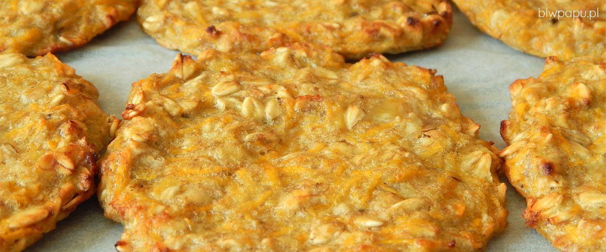 Pieczone placki owsiane z marchewką - na słodko, bez cukru
