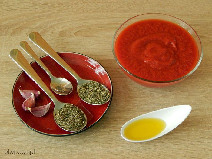 Sos pomidorowy - składniki