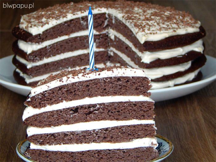 Tort na roczek, dwa latka i kolejne urodziny - bez cukru i glutenu