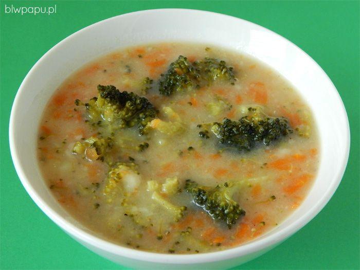 Zupa jarzynowa z brokułami