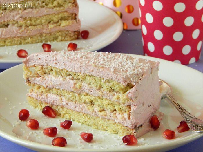 Tort bez cukru i glutenu, na pierwszy, drugi, trzeci roczek i każde kolejne urodziny